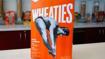 Greg Louganis Wheaties box