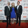 Peter Staley, Chelsea Clinton and Jes Staley