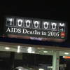 AHF's new billboards arrive for World AIDS Day, December 1.