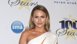 Shantel VanSanten at the Night of 100 Stars Oscar Viewing Party at the Beverly Hilton Hotel on February 22, 2015 in Beverly Hills, CA