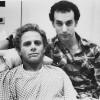 Geoff Edholm and David Schachter in Buddies.