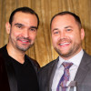 Broadway star Javier Muñoz and New York City Council Speaker Corey Johnson at GMHC's 2018 Gala