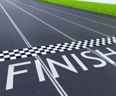 a finish line