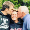 Tom Brady with his parents, Galynn and Tom Sr.